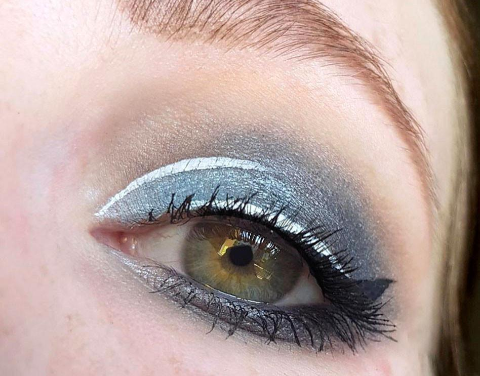 frischlackiertchallenge-Halfmoon-Make-up