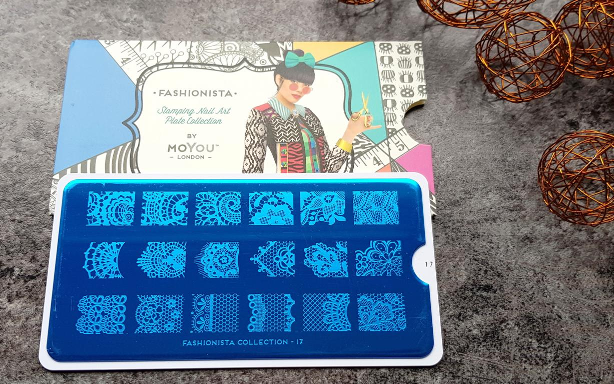 New In Moyou Stampingplatten Fashionista 17