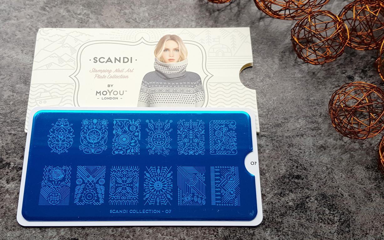 New In Moyou Stampingplatten Scandi 07