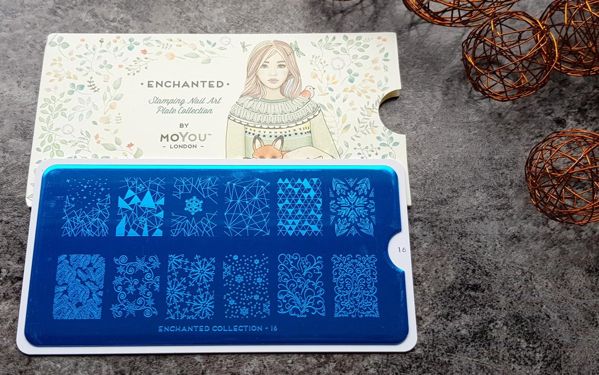 New In Moyou Stampingplatten Enchanted 16
