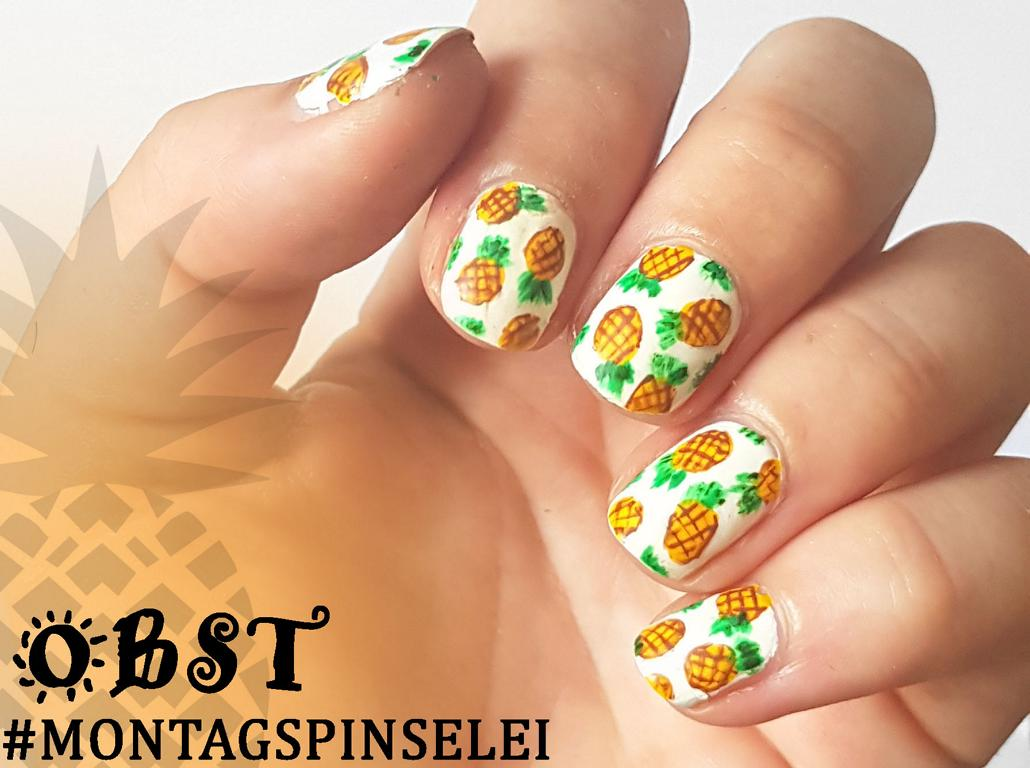 Ananas Nailart