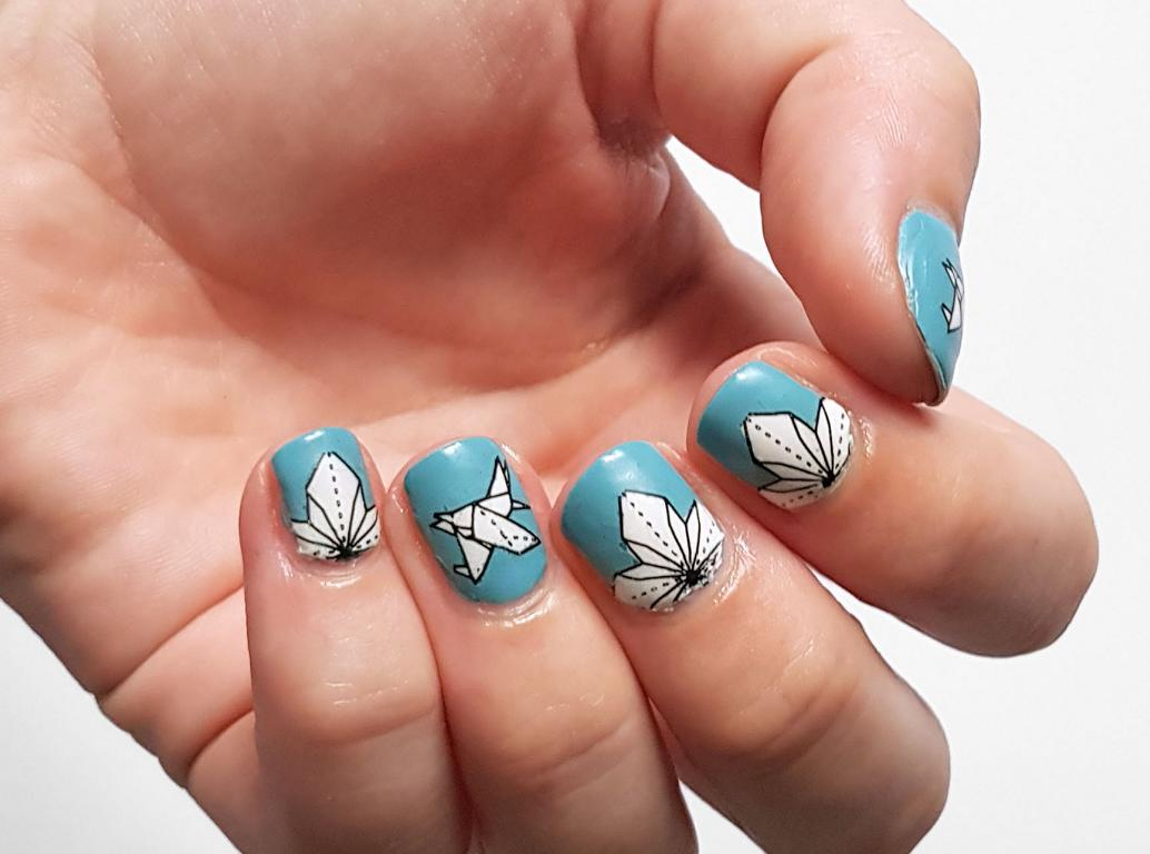 Origami Naildesign