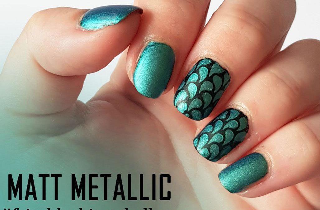 Matt Metallic Nails