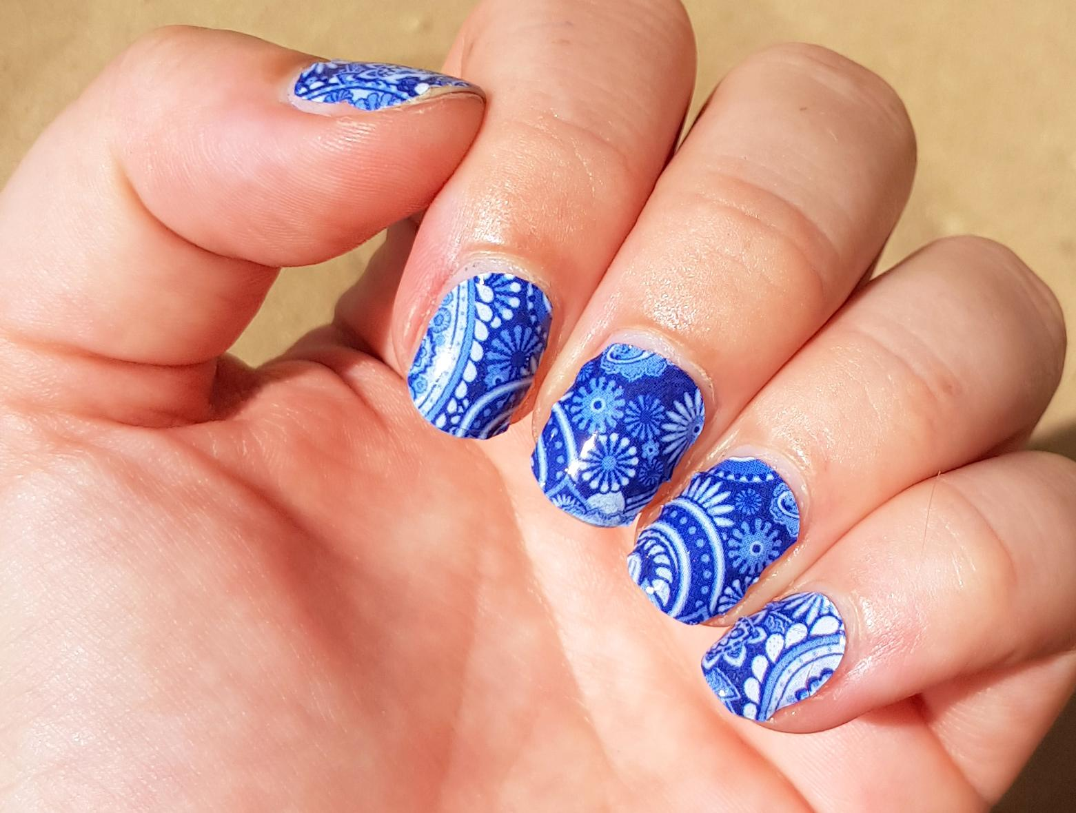 Arabian Nights Nailwraps von Miss Sophie's