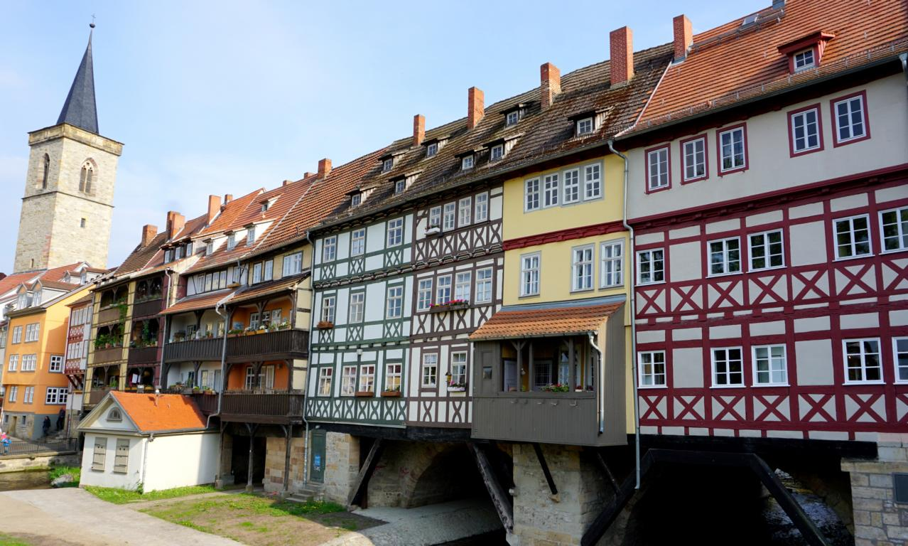Familienwochenende in Erfurt