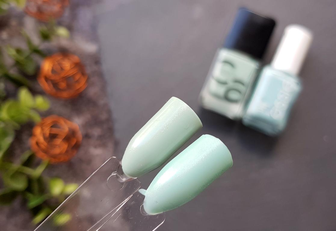 New In Juli 2018 Catrice Mint Map Dupe Essie Mint Candy Apple