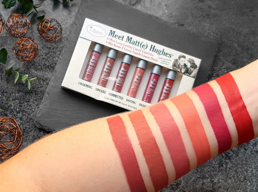 New In Juli The Balm Meet Matte Hughes