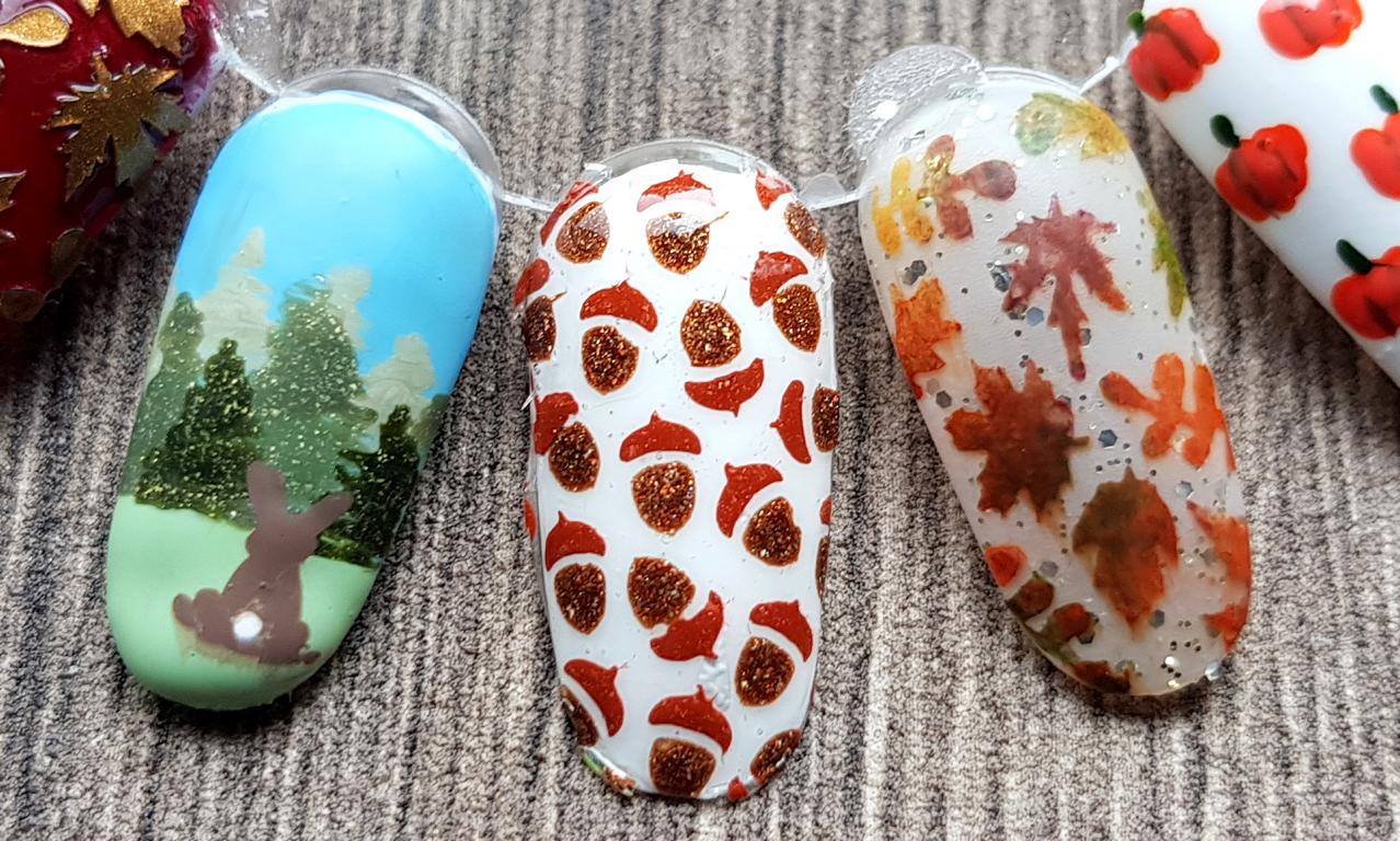 Herbst-Naildesigns