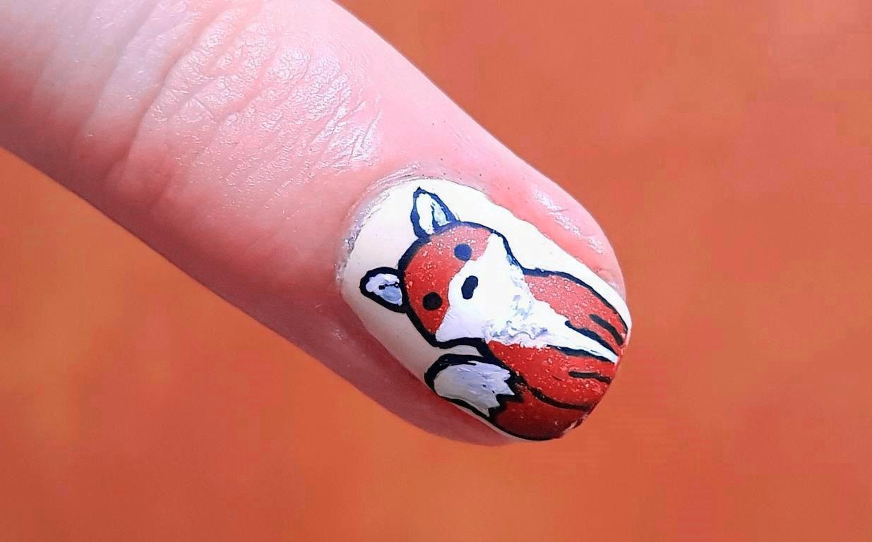 Fuchs Nailart