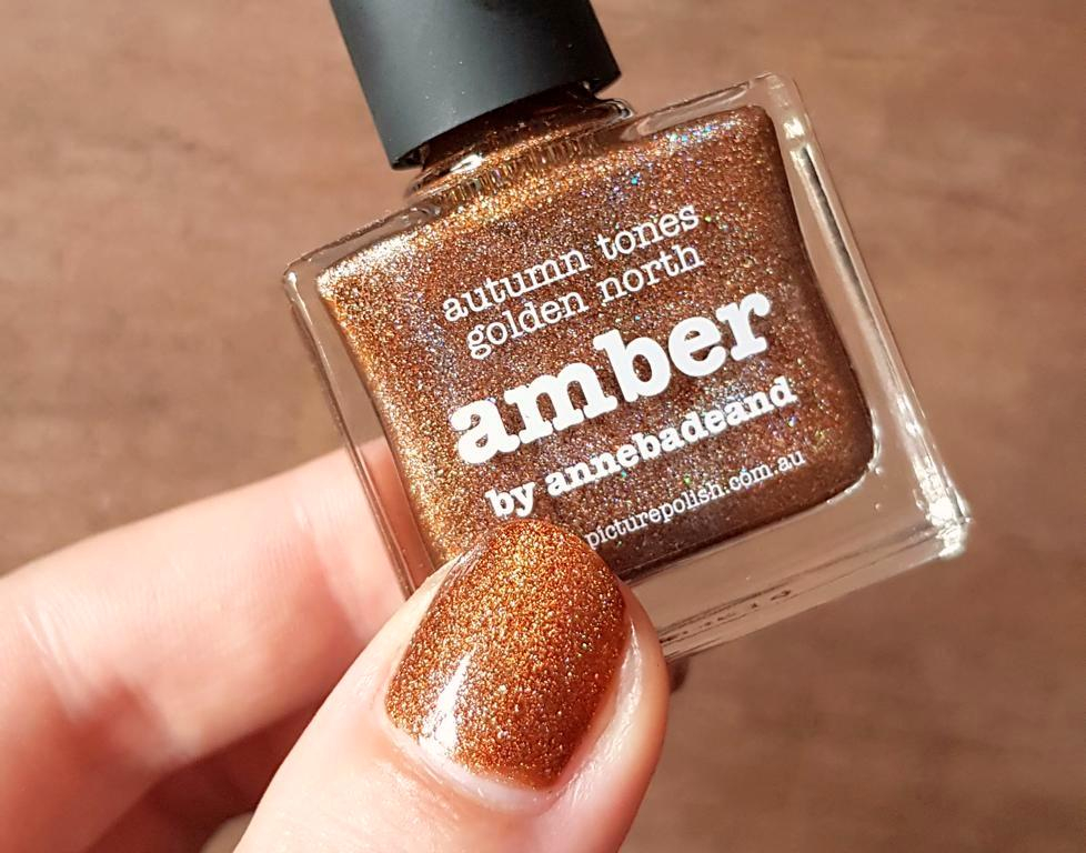 New In Picture Polish Amber