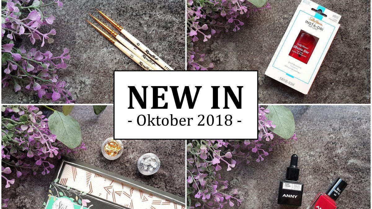 New In Oktober