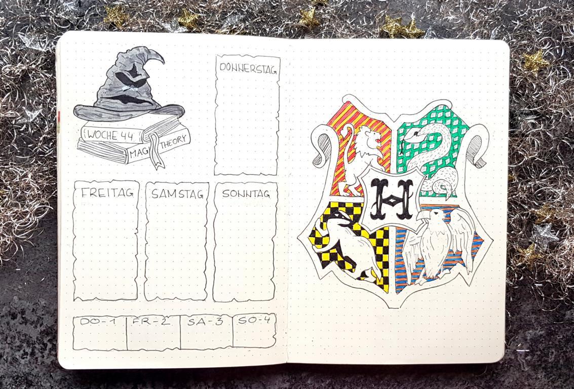 Harry Potter Bullet Journal