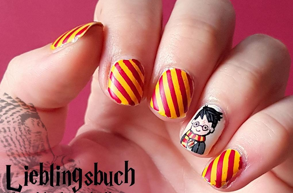 Harry Potter Nailart