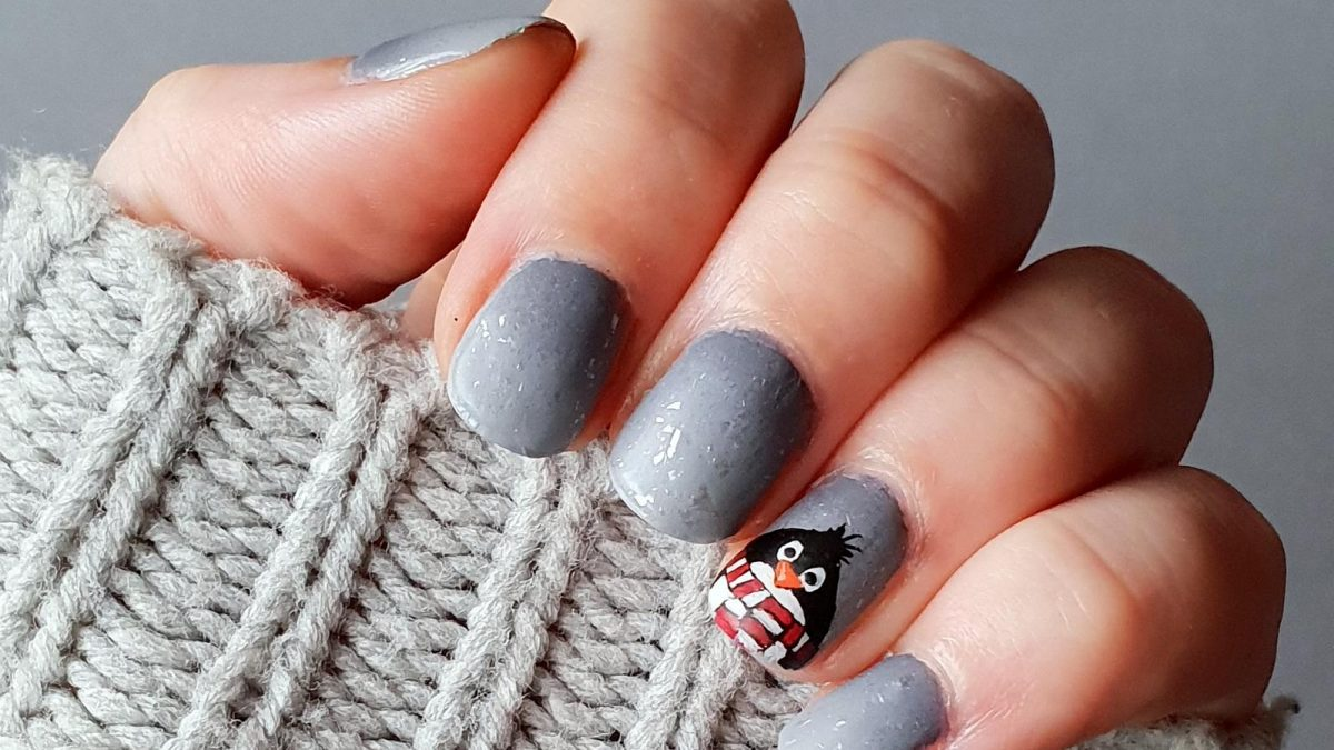 Pinguin Nailart
