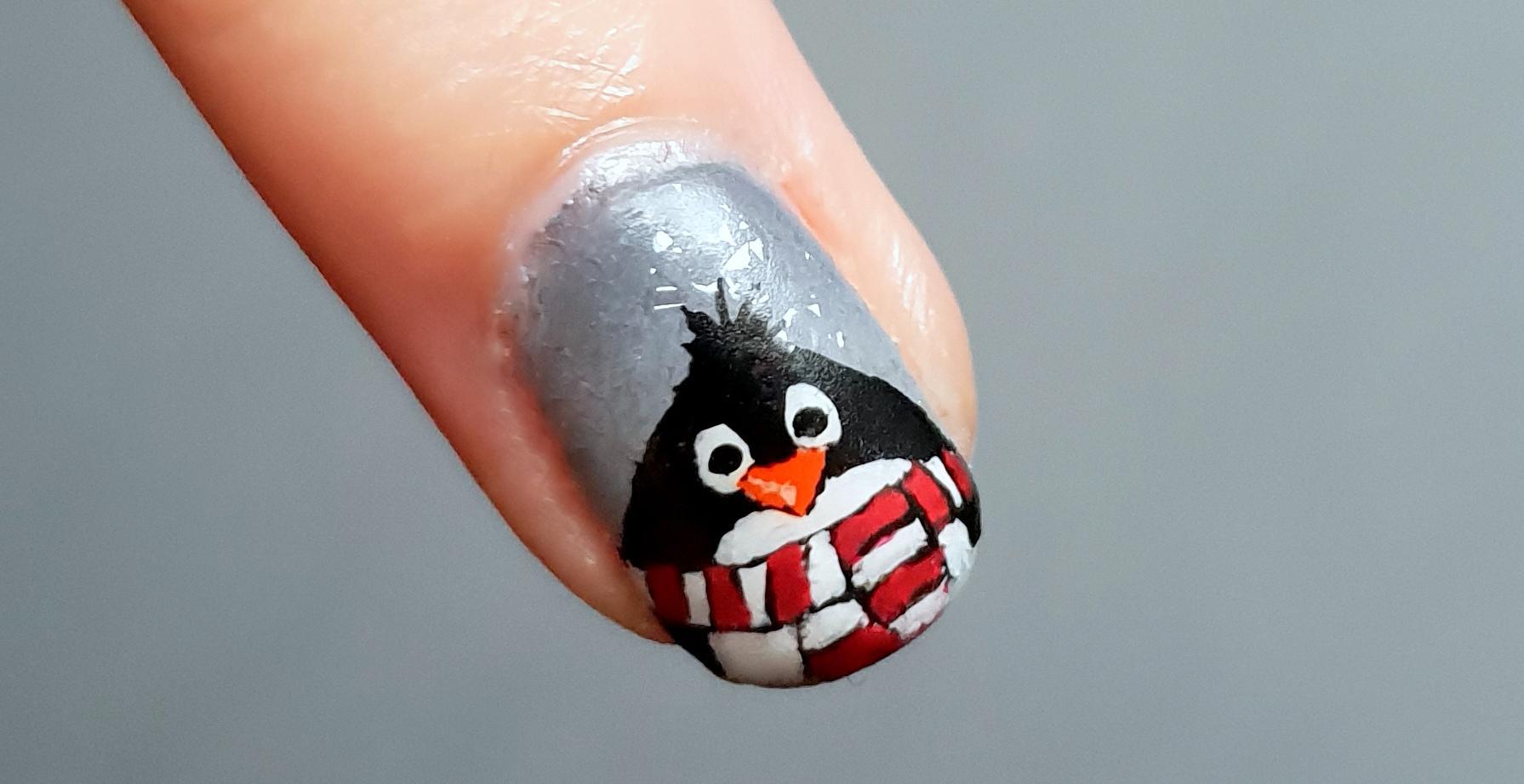 Pinguin Nailart