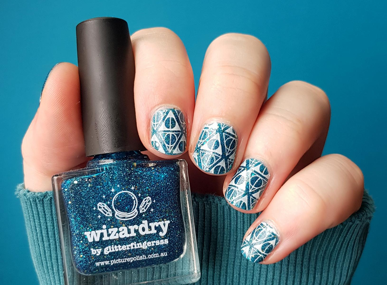 Naildesign Harry Potter Heiligtümer des Todes Picture Polish Wizardry