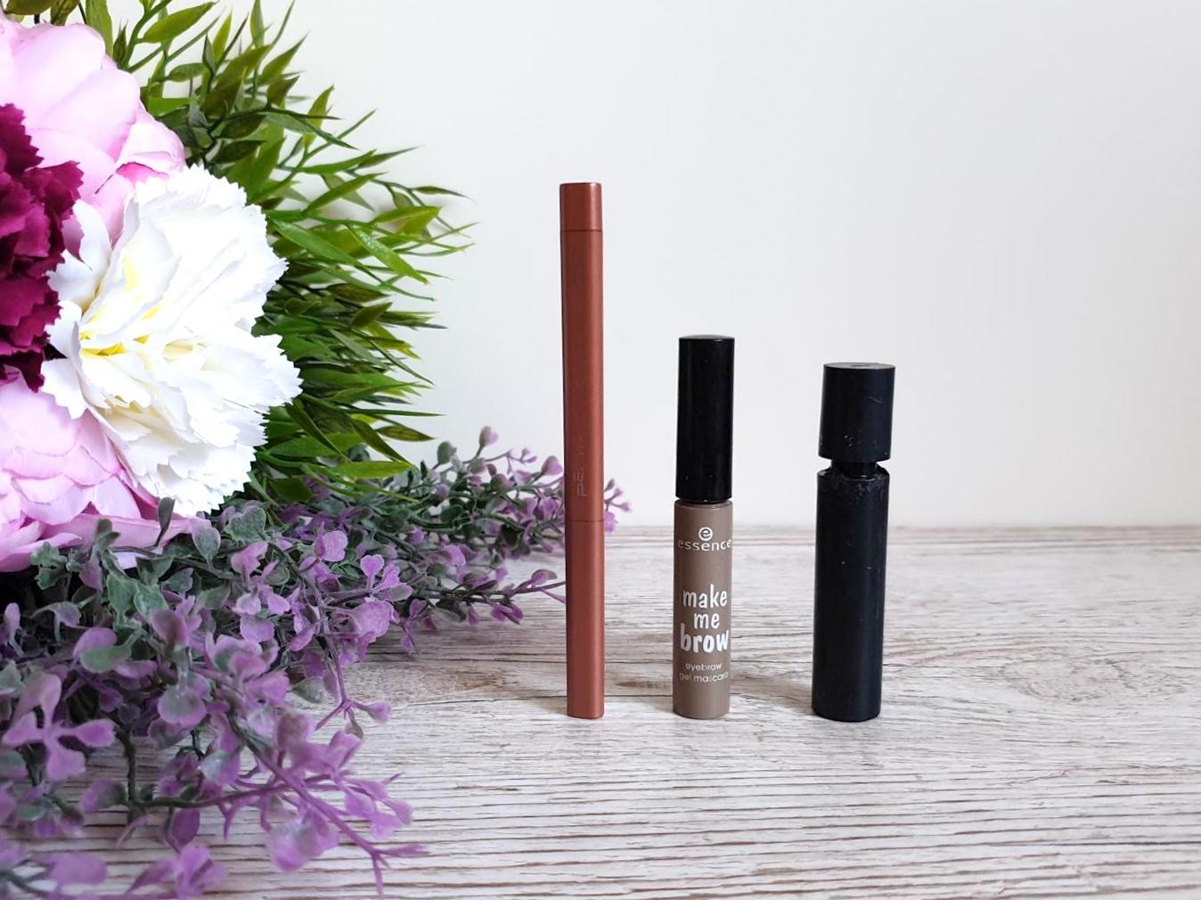 Aufgebraucht Make-up Produkte