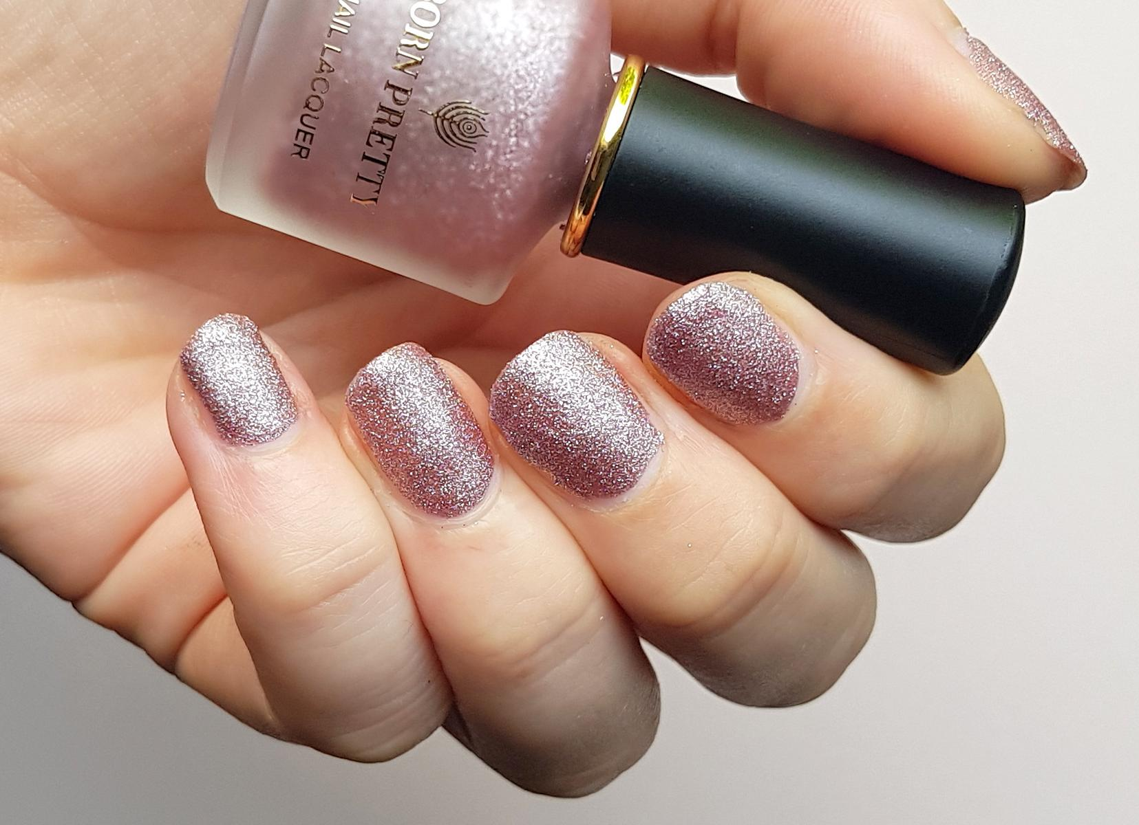 Born Pretty Pearlescent Matte Nailpolish Just At First Sight