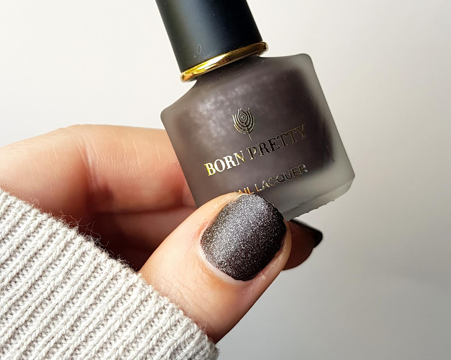 Born Pretty Pearlescent Matte Nailpolish Drop In Ocen
