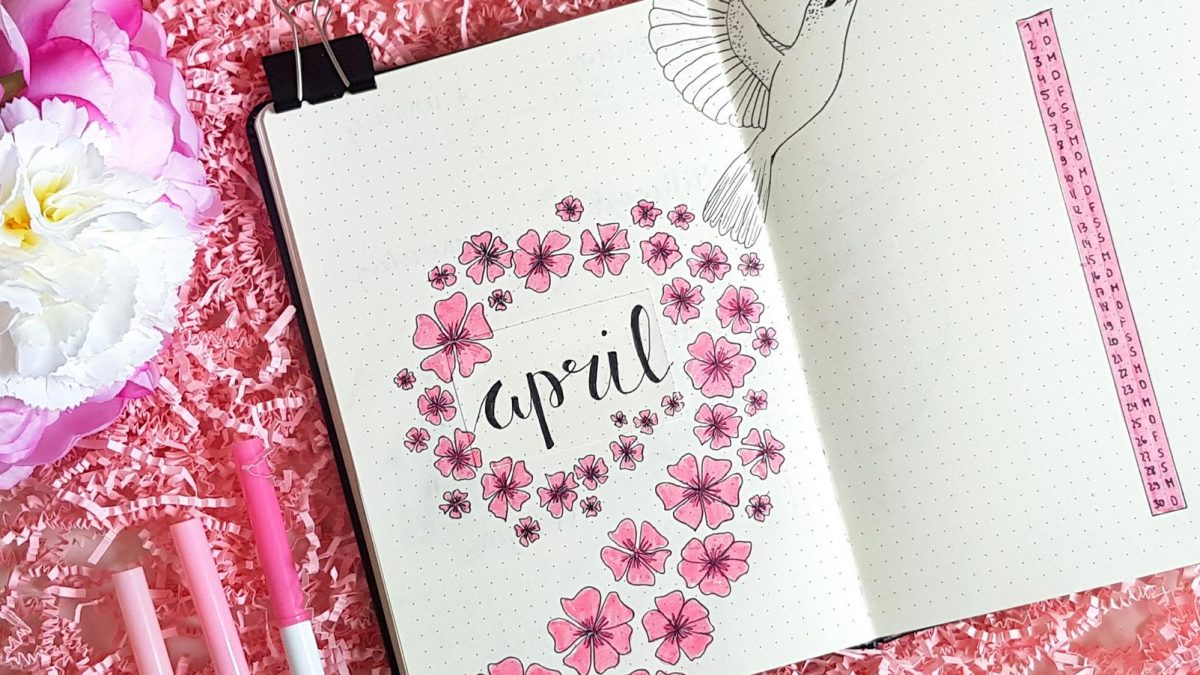 Bullet Journal April Kolibri