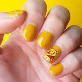Nailart Gelb Picture Polish Pooh Winnie Pooh Nails Disney