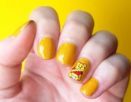 Nailart Gelb Picture Polish Pooh Winnie Pooh Nails Disney
