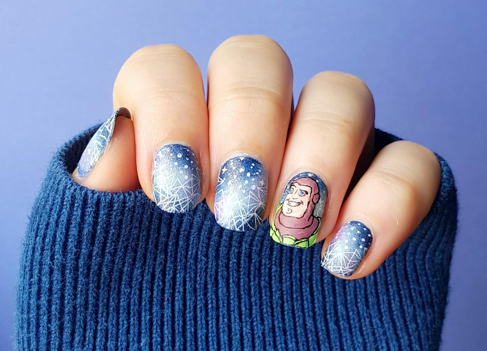 Buzz Lightyear Nailart