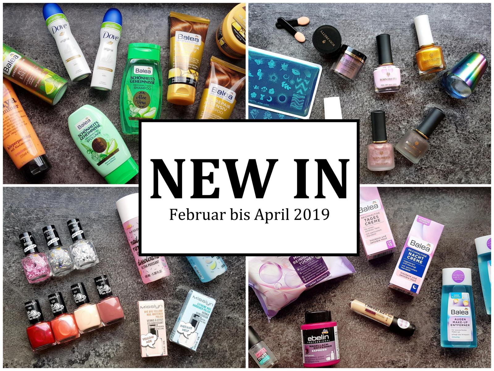 New In Februar bis April 2019