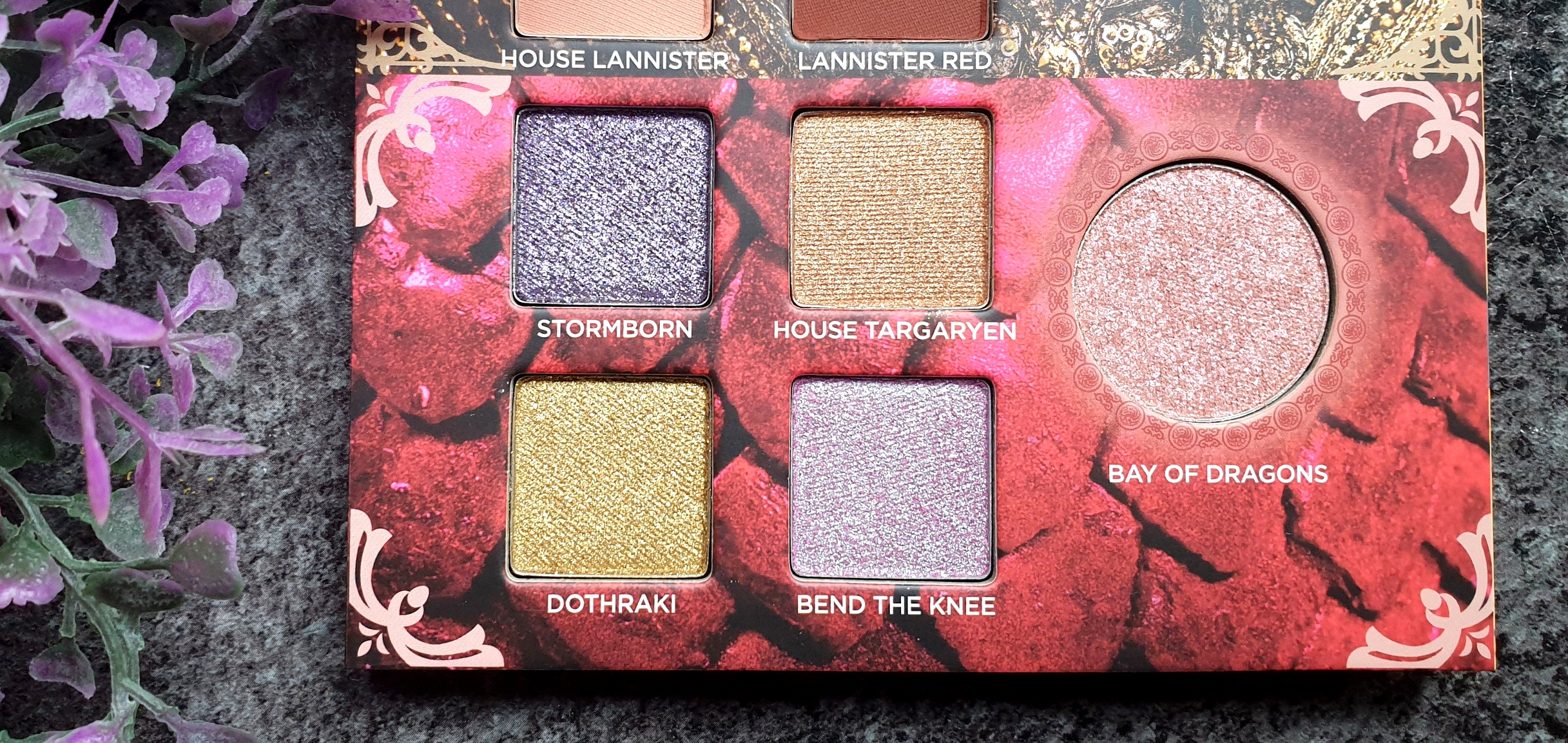 New In Mai 2019 Urban Decay Game OF Thrones Lidschattenpalette