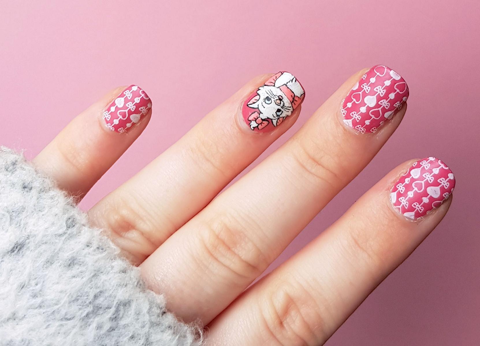 Disney Nails Aristocats Marie