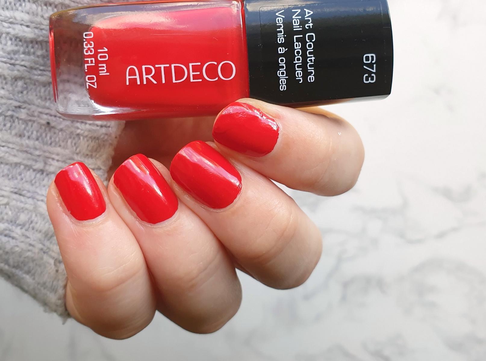 Artdeco Red Volcano