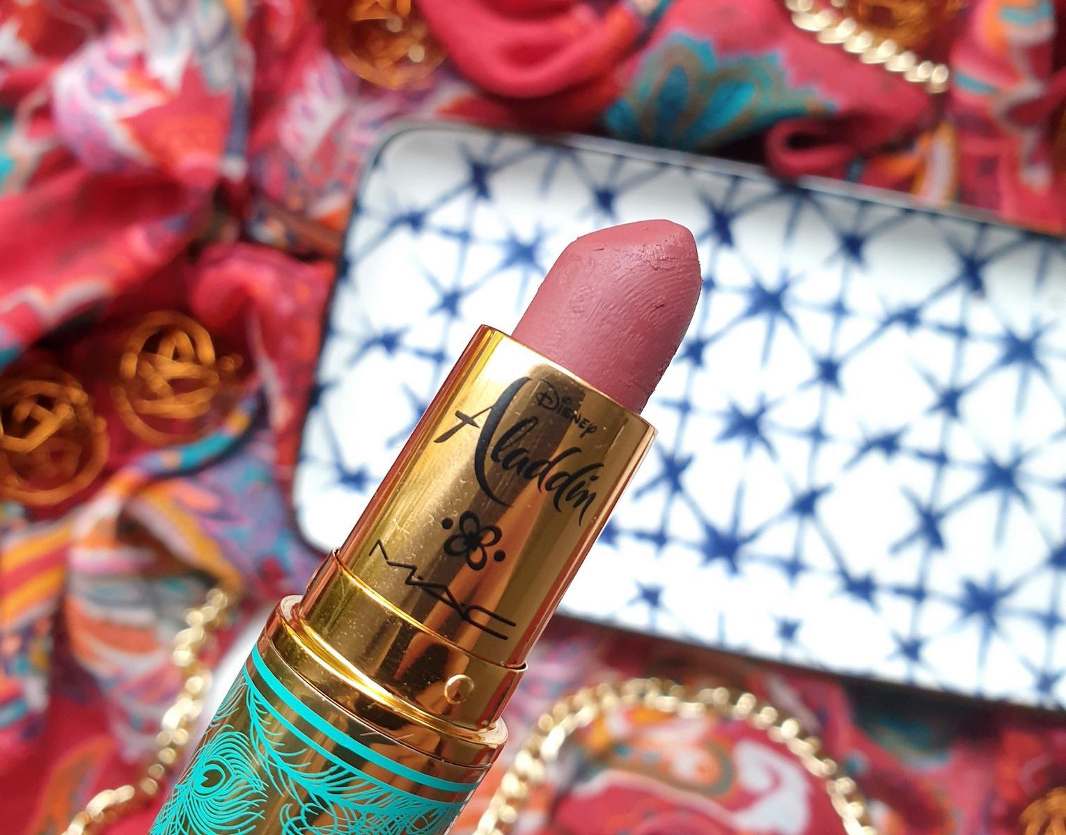 Mac Aladdin Kollektion Lipstick Rajah