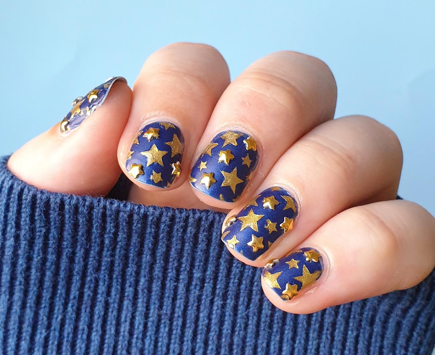Stars Nailart