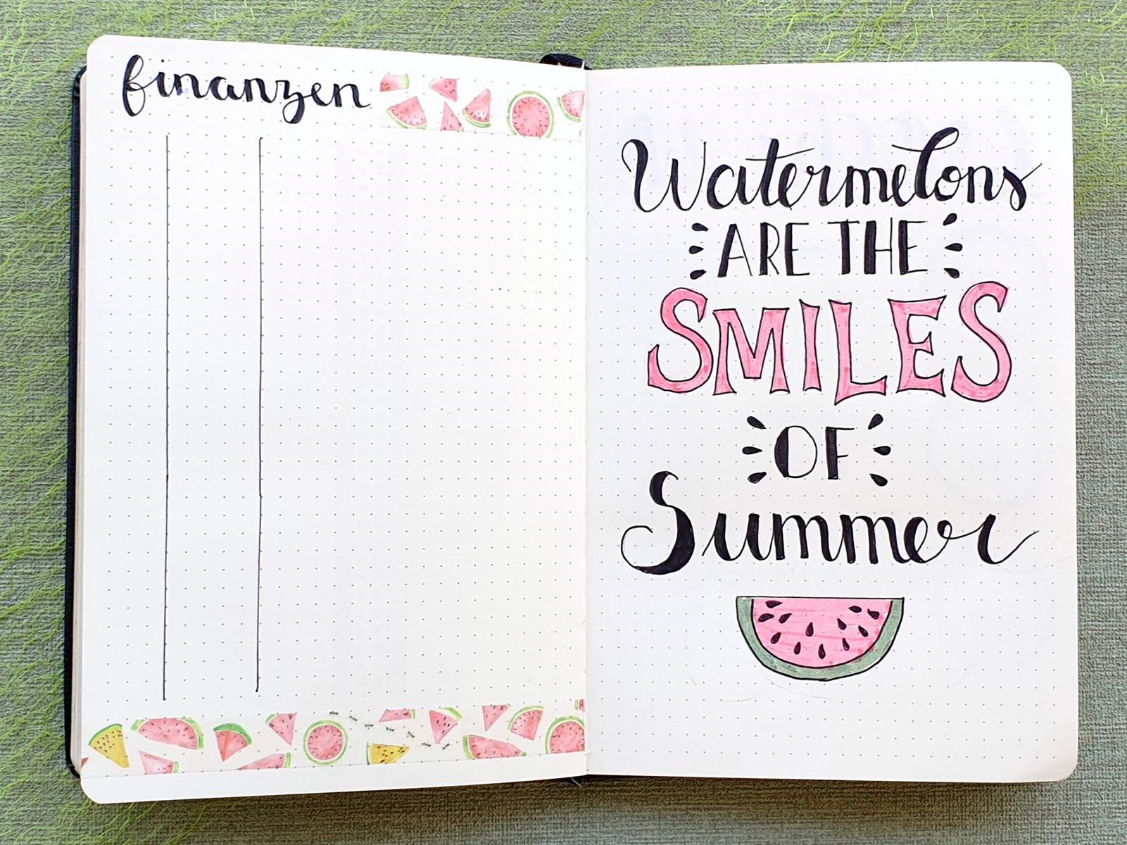Bujo Juli Watermelon