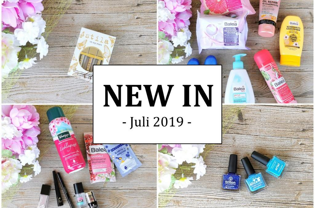 New In Juli 2019