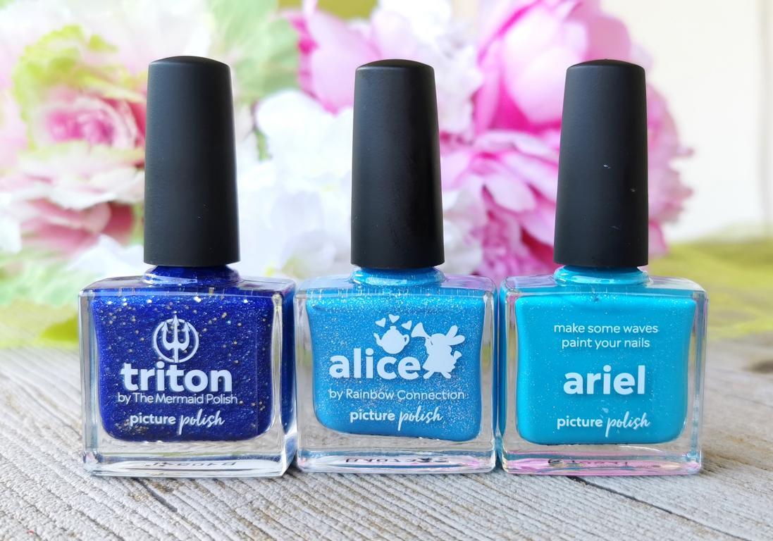 Picture Polish Triton, Alice, Ariel
