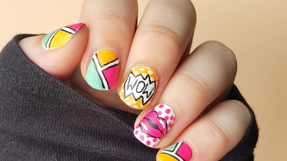 Pop Art Nailart