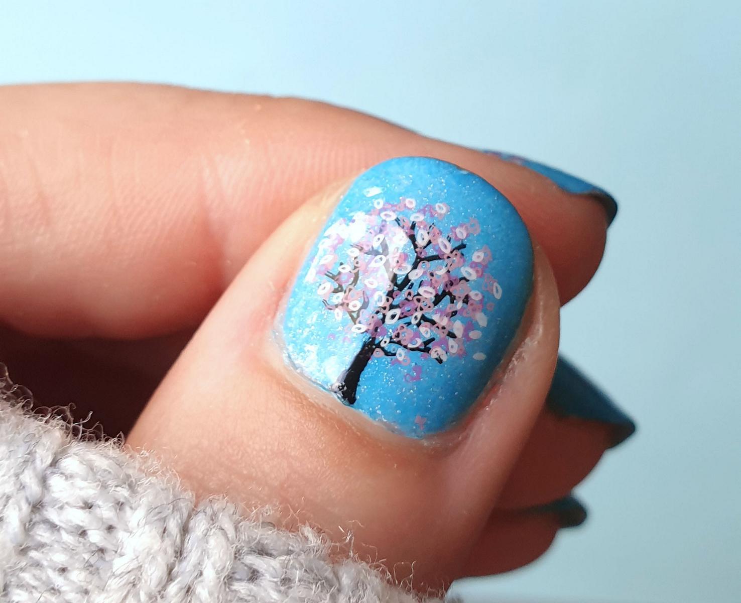 Kirschblüten Nails