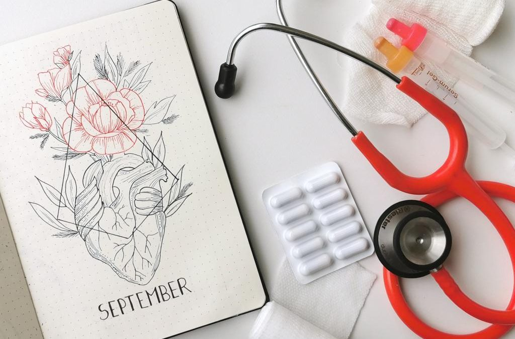 Bullet Journal Doctor Coverpage September