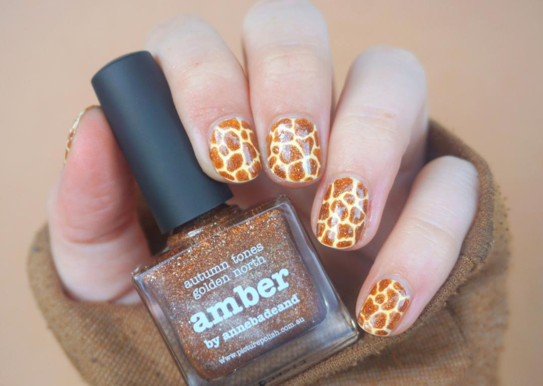 Picture Polish Amber Nails
