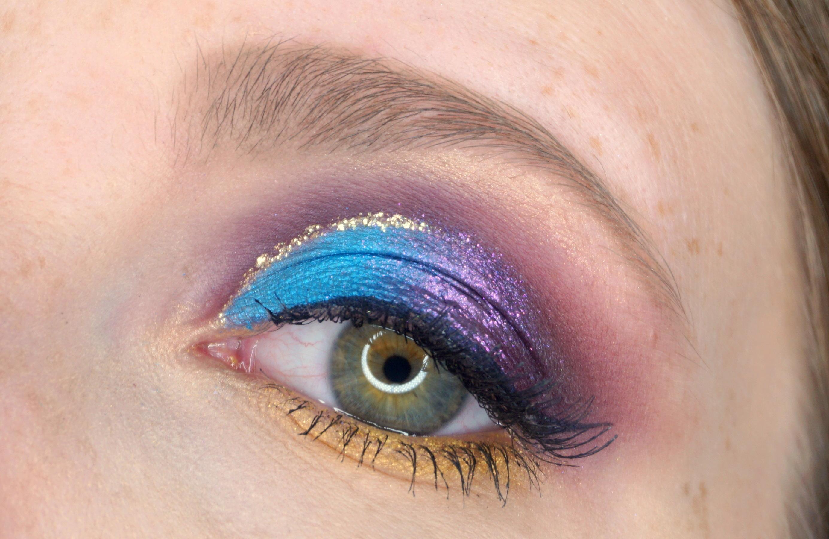 essence Disney Princess Eyeshadow Palettes Jasmine Make-up