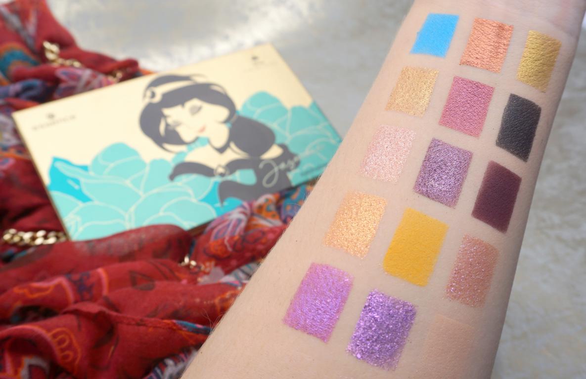 essence Disney Princess Eyeshadow Palettes Jasmine Swatches