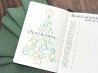 Bujo December 2019 Christmas Tree