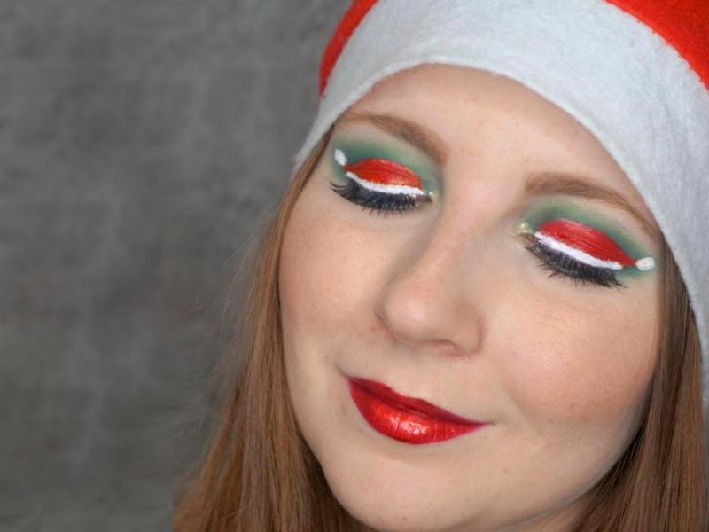 Nikolaus Make-up Santa Claus Hat