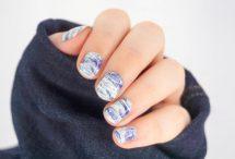 Blue Stamper Marble