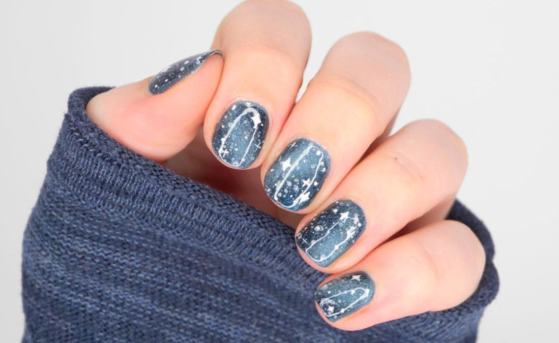 Galaxy Nailart