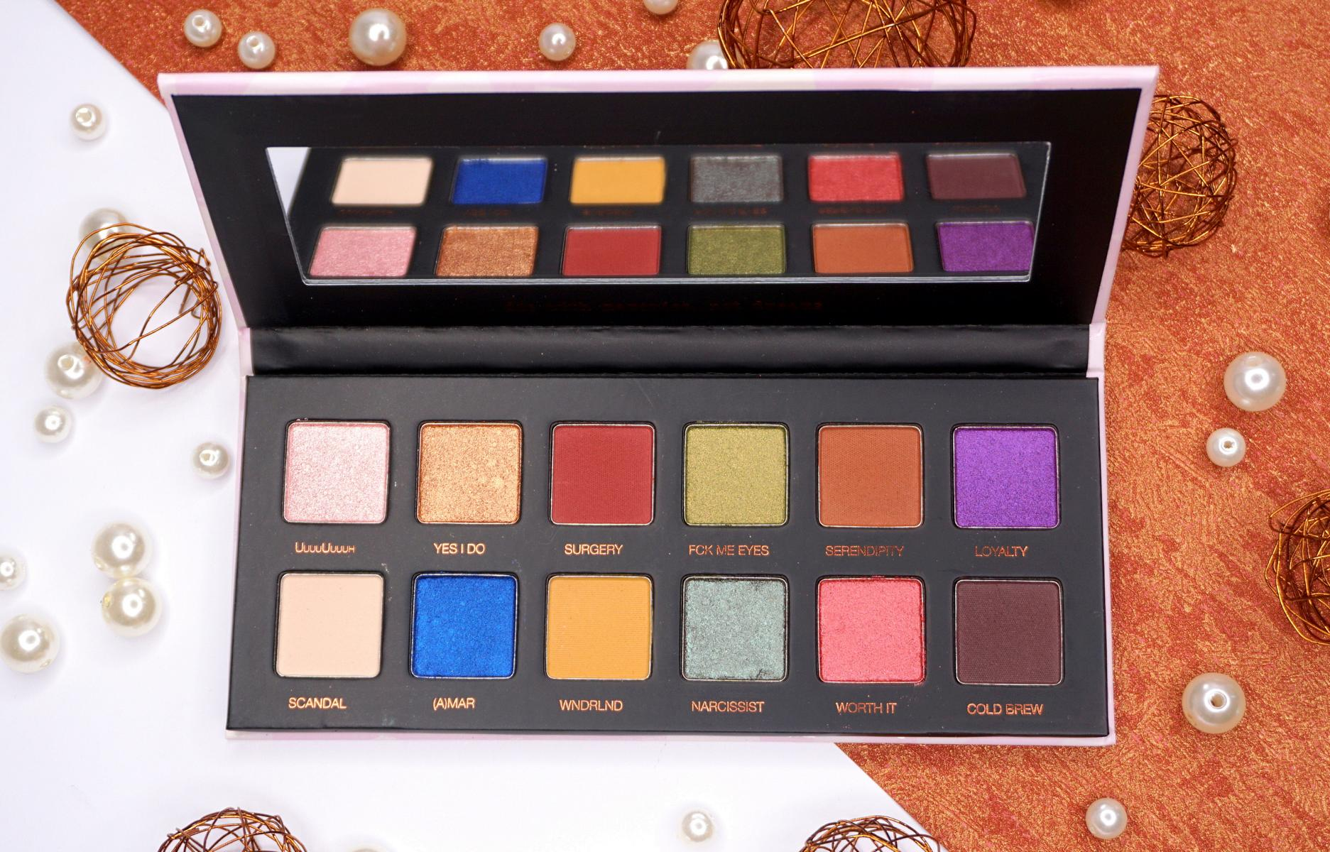 Lethal Cosmetics x Jolina Eyeshadow Palette