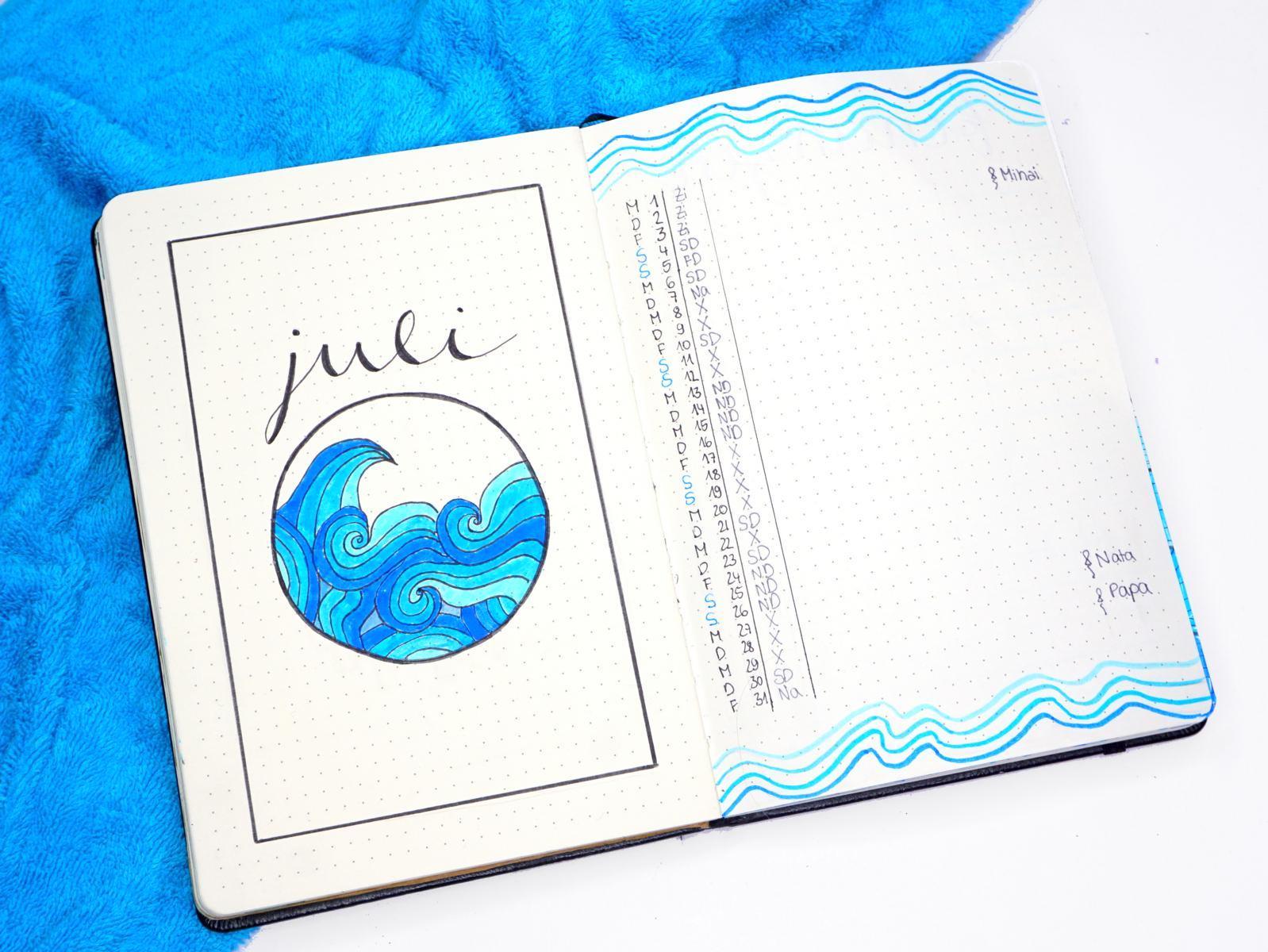 Bujo Waves July 2020
