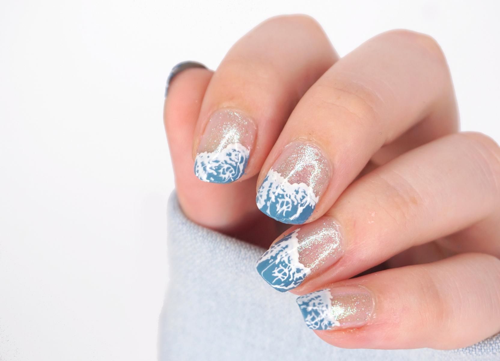 Stamping Nails Maniology Waves