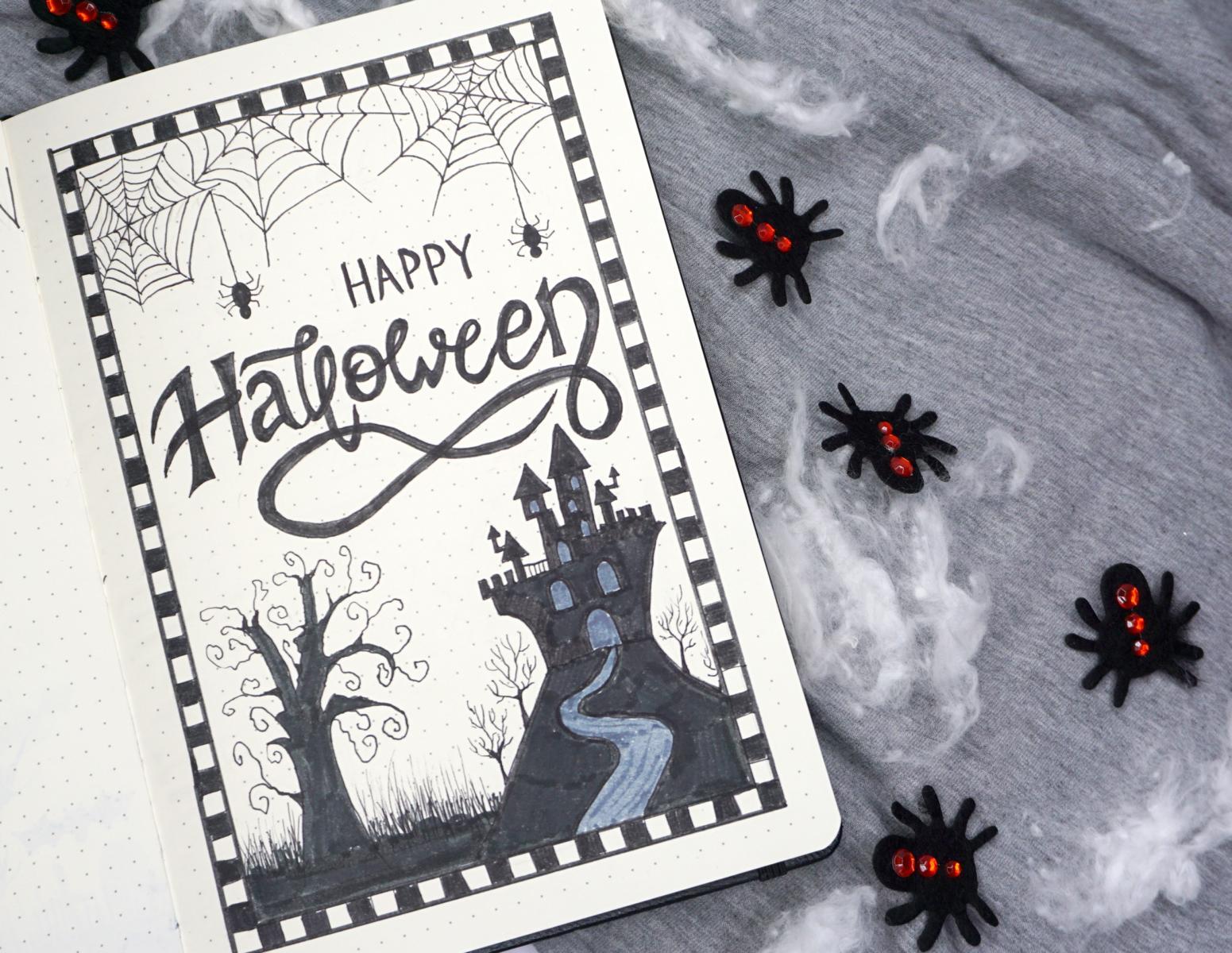 Halloween Bullet Journal